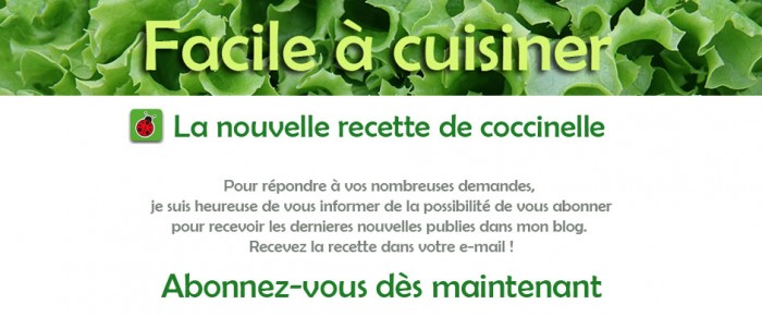 Mes articles par e-mail