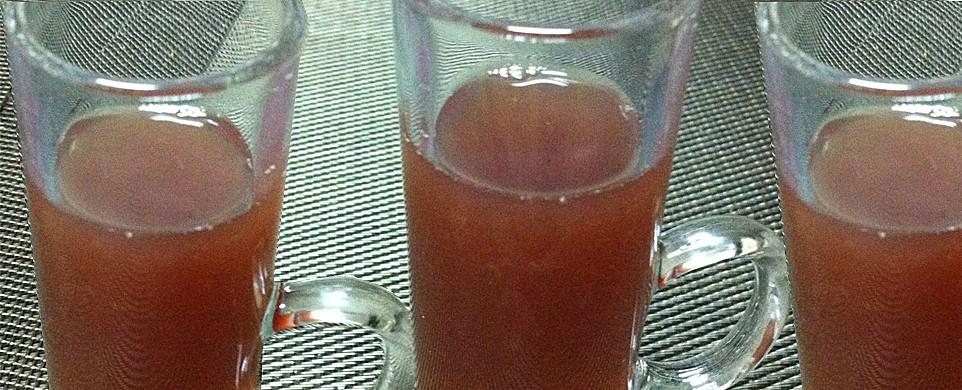 Cocktail de jus de fruits sans alcool